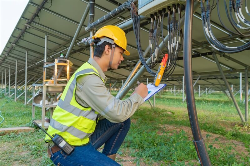 Prolock cable ties for Solar Industry